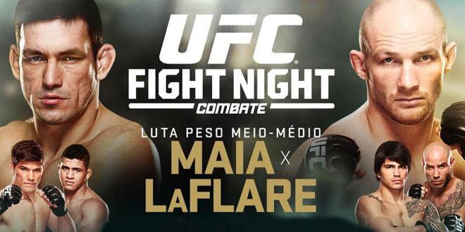 Risultati UFC Fight Night 62: Maia vs. LaFlare