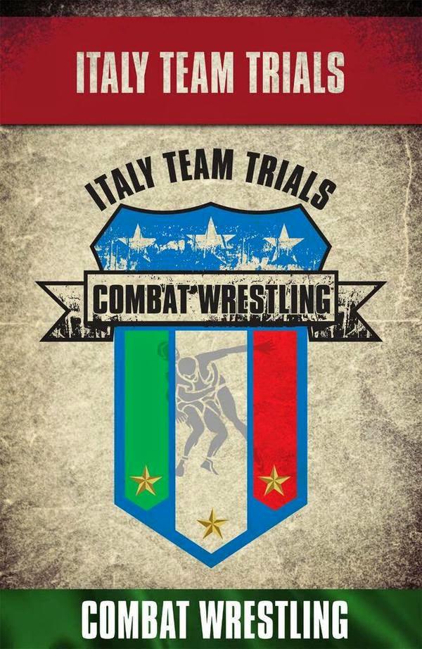 Selezioni per il 1 Campionato Mondiale di Combat Wrestling. 1