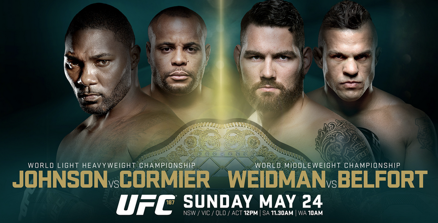 Risultati UFC 187 Johnson vs. Cormier