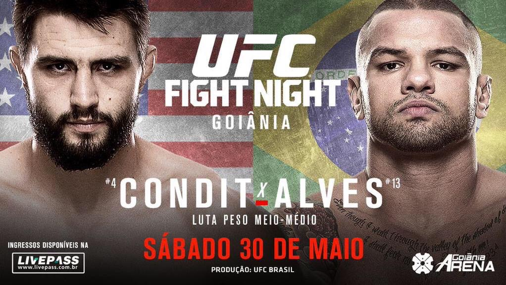 UFC Fight Night- Condit vs. Alves
