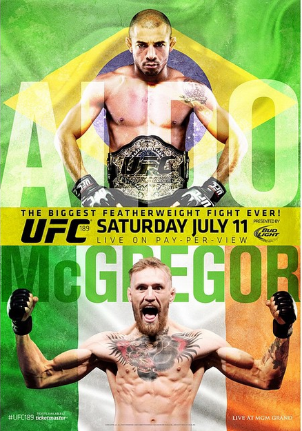UFC 189 Aldo vs. McGregor