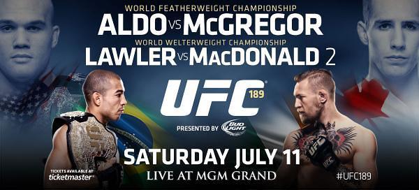 UFC 189: Aldo vs. McGregor 1