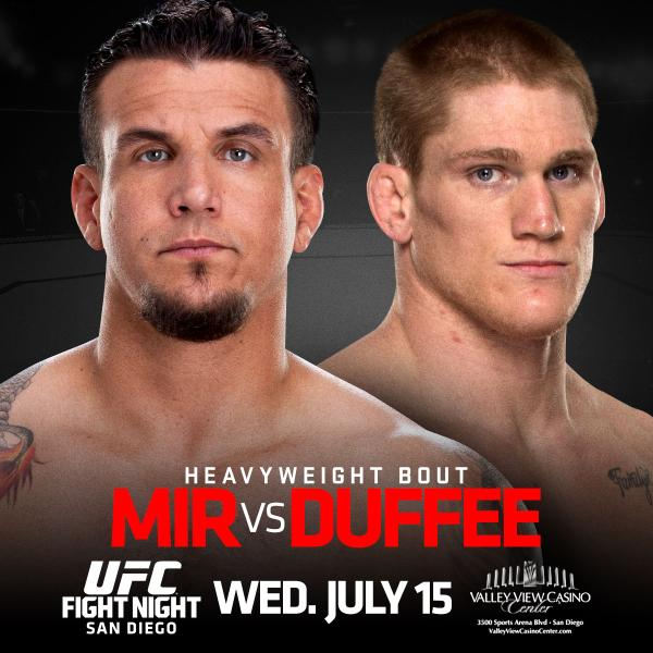 UFC Fight Night 71: Mir vs. Duffee 1
