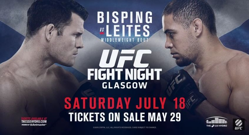 UFC Fight Night 72: Bisping vs. Leites