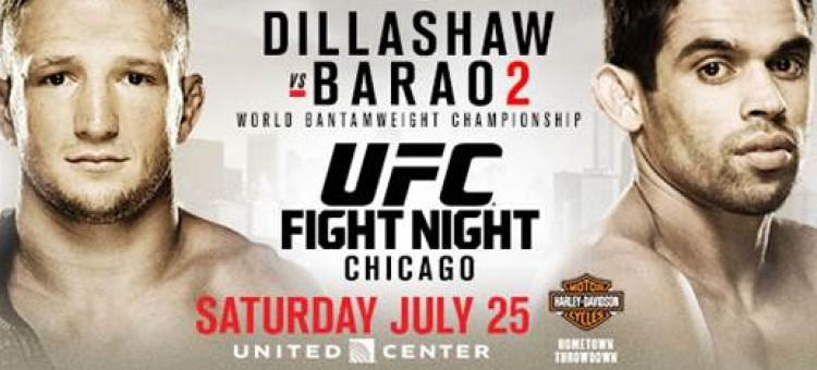 UFC on FOX 16: Dillashaw vs. Barao 2