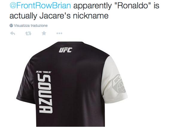 Il soprannome di Jacare Souza è Ronaldo.