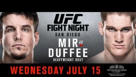 Risultati UFC Fight Night: Mir vs. Duffee 1
