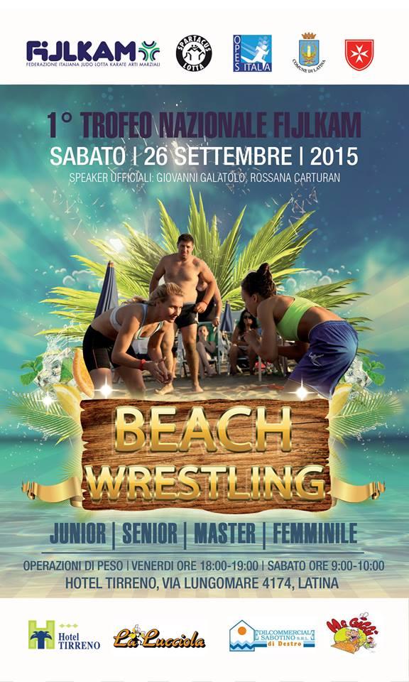 Trofeo Nazionale di Beach Wrestling