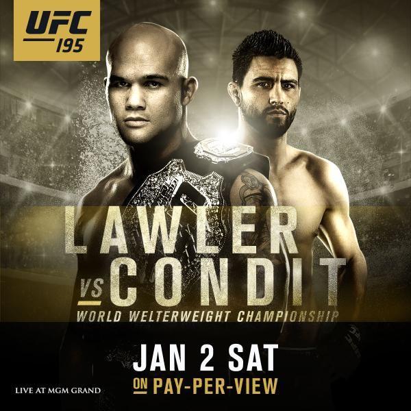 UFC 195: Lawler vs. Condit 1