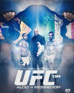 Poster alternativo UFC 194