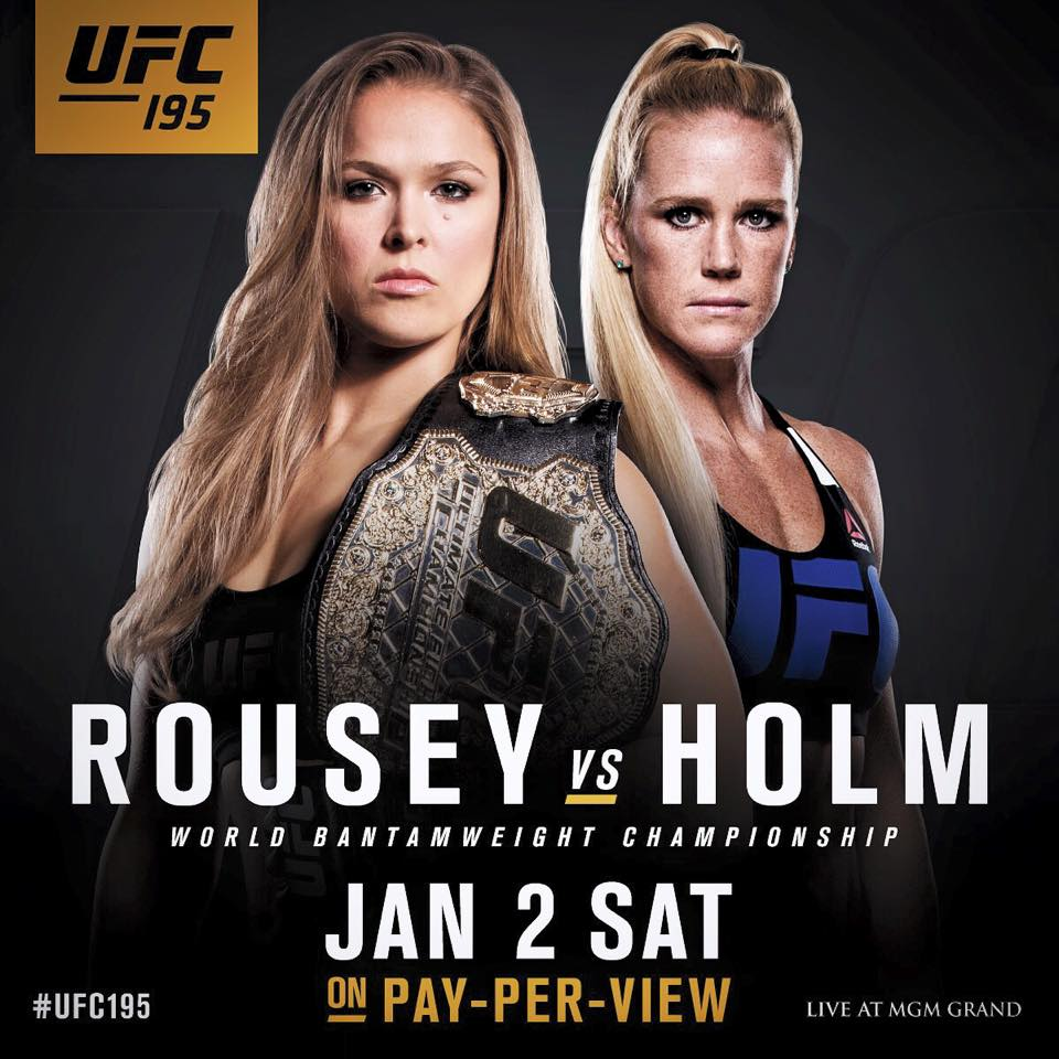 UFC 195: Rousey vs. Holm