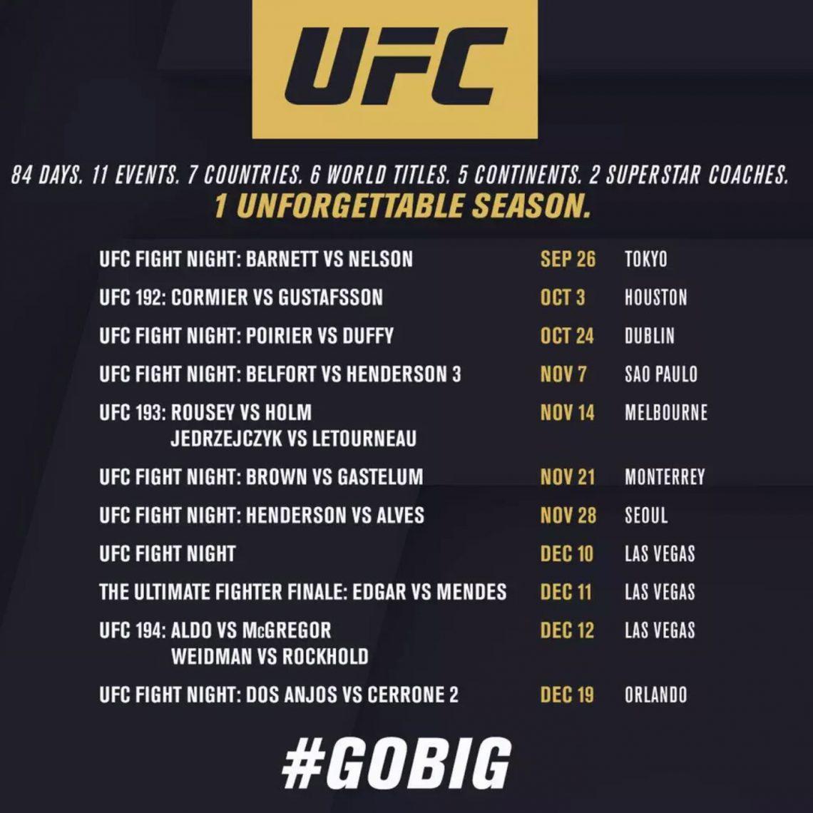 UFC-GOBIG