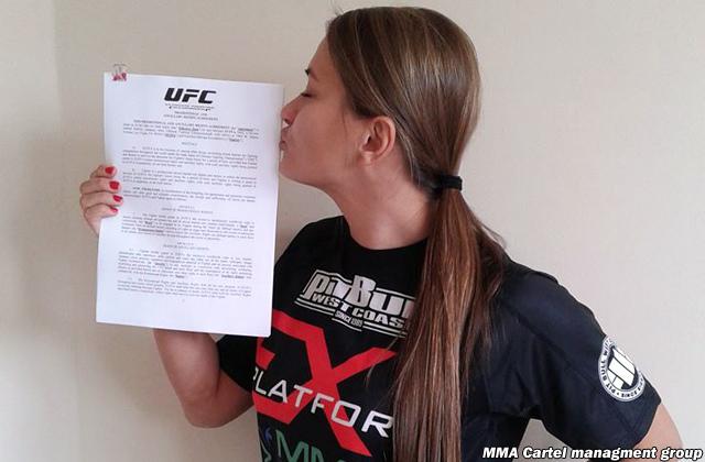 Karolina Kowalkiewicz firma con UFC.Arriverà a combattere contro Joanna Jedrzejczyk? 1