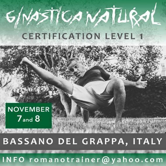 7-8 Novembre - Certificazione di Ginastica Natural