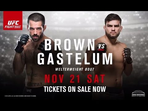 UFC Fight Night 78: Brown vs. Gastelum 1