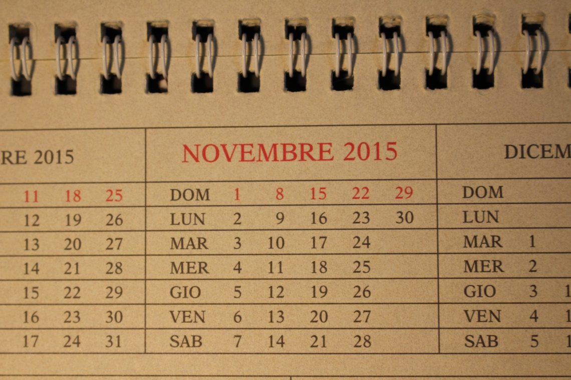 Quali sono gli appuntamenti di Novembre da non perdere? 1