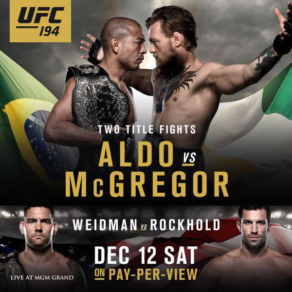 Risultati UFC 194: Aldo vs. McGregor 1
