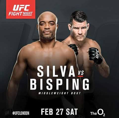 UFC Fight Night London 2016 - Silva vs Bisping 1