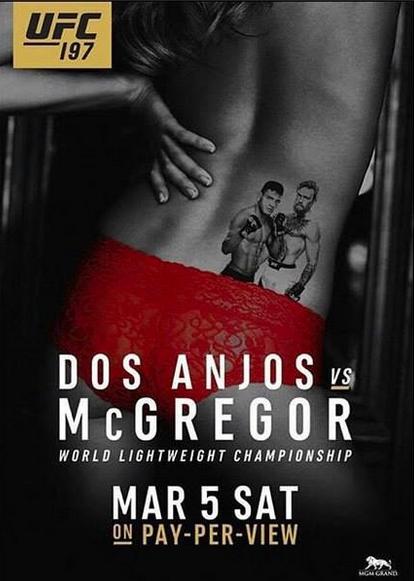 UFC 197 - dos anjos vs McGregor
