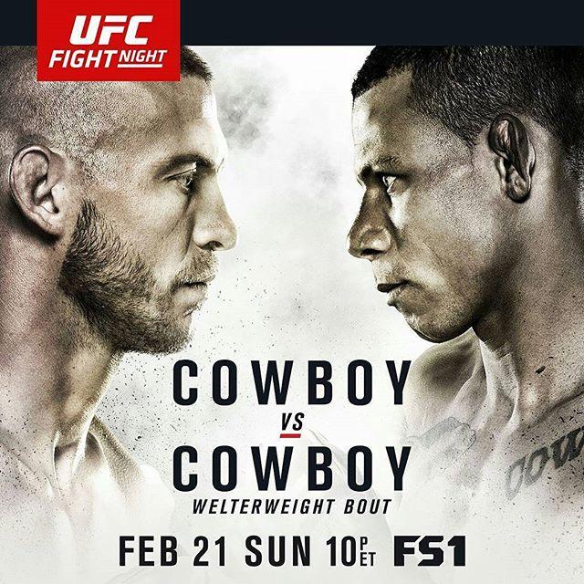 Risultati UFC Fight Night: Cowboy vs. Cowboy 1