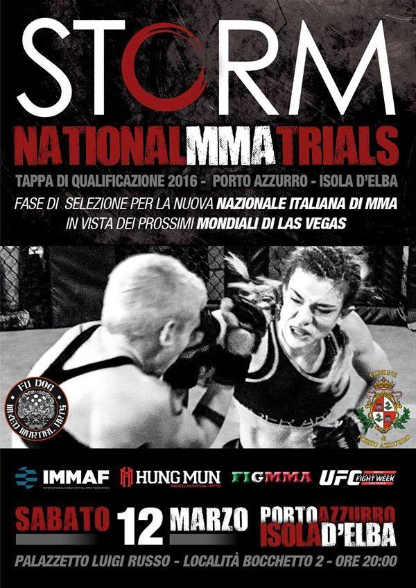 Storm National MMA Trials 1