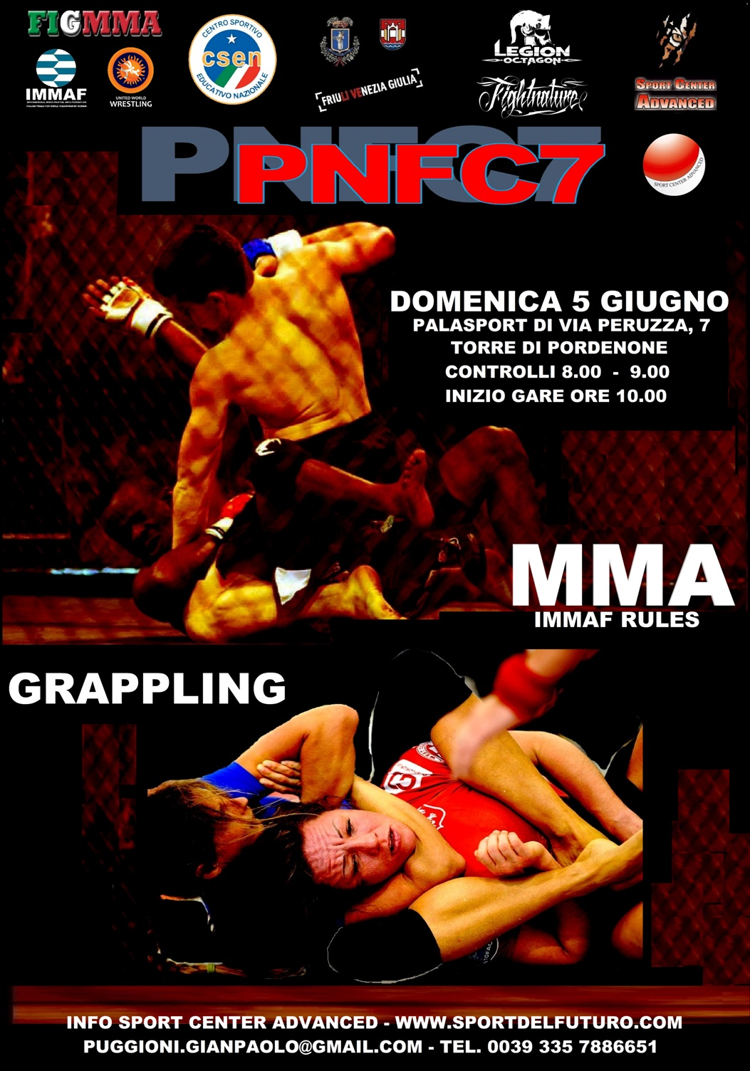 "PNFC 7 - ""European Alliance Championship"" 1"