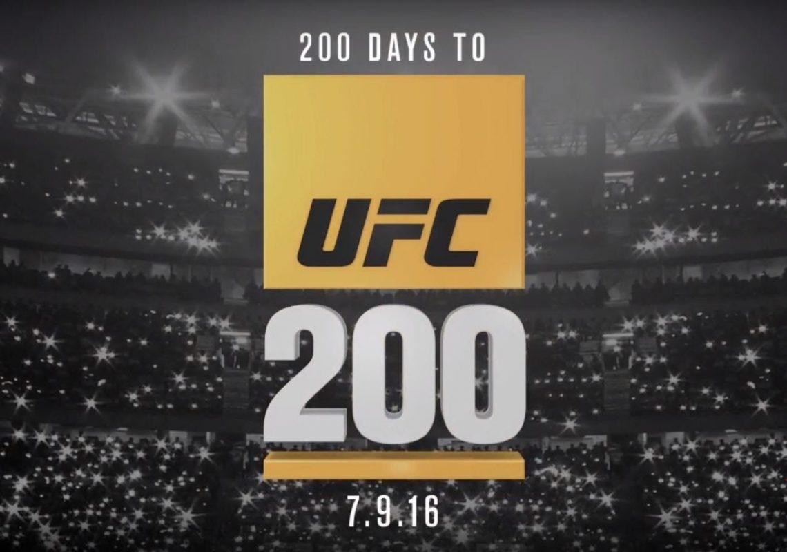 UFC 200: card annunciata (per ora) piuttosto deludente 1