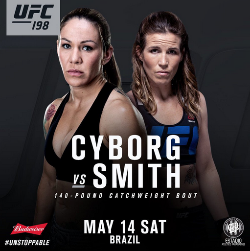 UFC 198: debutta in UFC la Cyborg 1