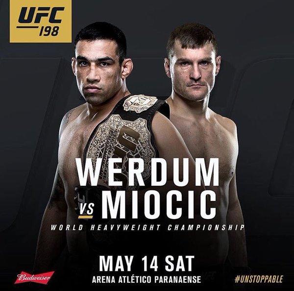 UFC 198: Fabricio Werdum vs. Stipe Miocic 1