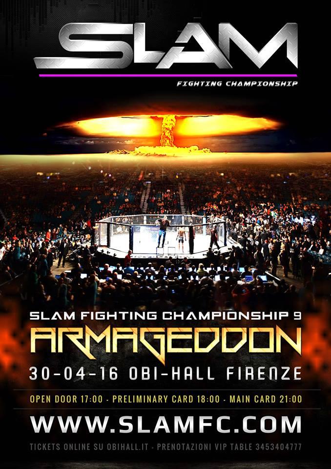 SLAM FC9 ARMAGEDDON 1