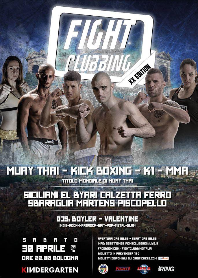 Fight Clubbing XX Bologna 1