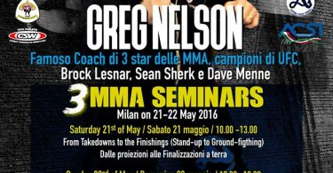 Venator + Greg Nelson Seminar = MMA Weekend 3
