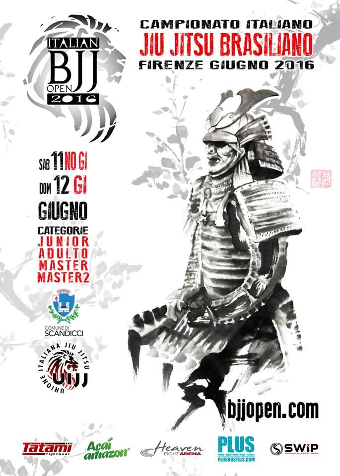 Campionato Italiano Jiu jitsu Brasiliano (UIJJ) 1