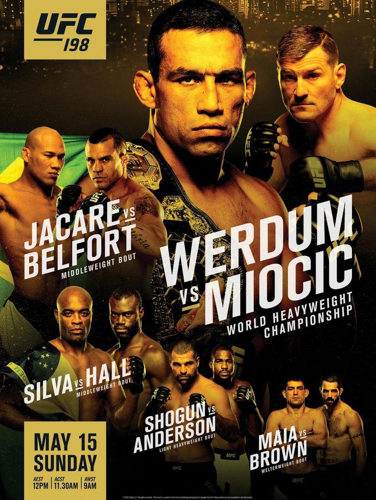 zRisulatati UFC 198: Werdum vs. Miocic