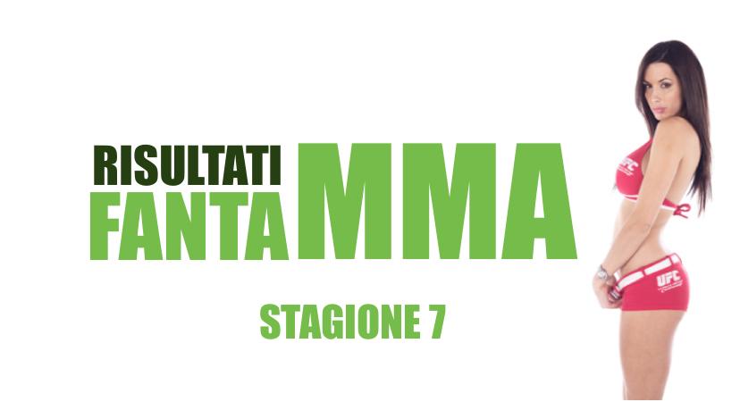 FantaMMA s07e08: UFC Fight Night: Rodriguez vs. Caceres RISULTATI 1