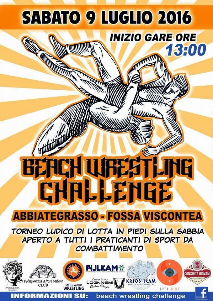 Beach Wrestling Challenge 2016 (Milano) 1