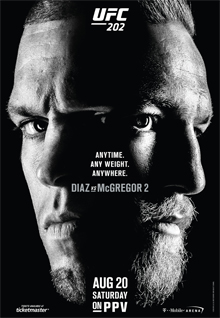 UFC 202: Diaz vs McGregor 2 (card con il Debutto di Marvin Vettori) 1