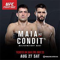 UFC on Fox: Maia vs. Condit (card con Alessio Di Chirico) 1