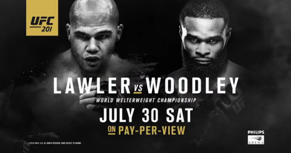 Risultati UFC 201: Lawler vs. Woodley (Update) 1