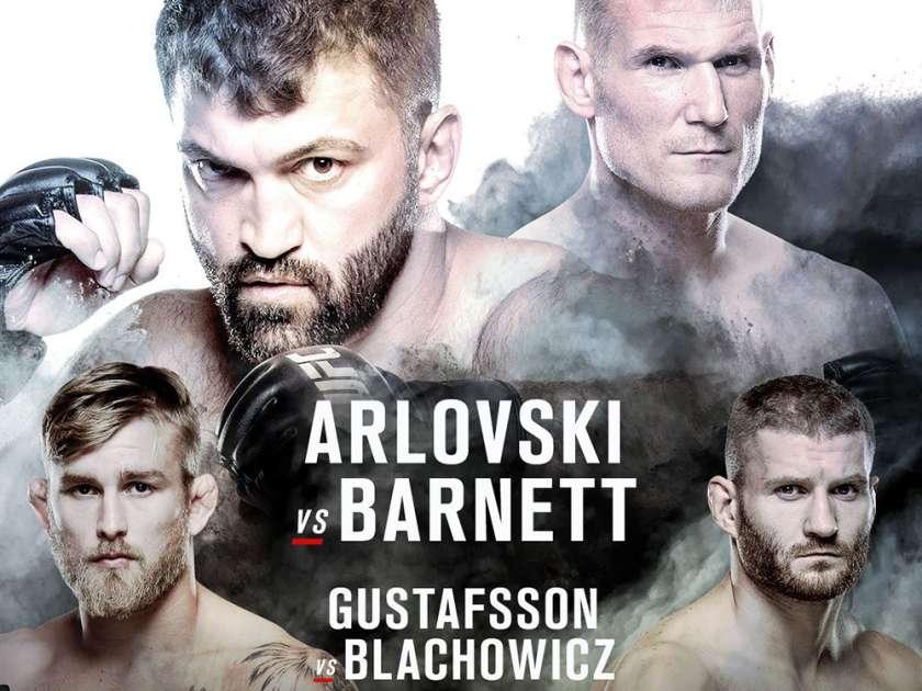 Risultati UFC Fight Night: Arlovski vs. Barnett (UFC Amburgo) 1