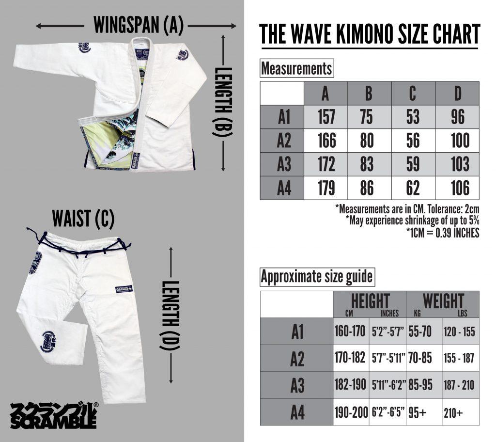 scramble-wave-kimono-size-chart