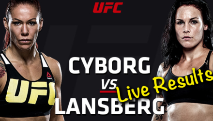 Risultati UFC Cyborg vs. Lansberg ( UFC Fight Night 95 ) 1