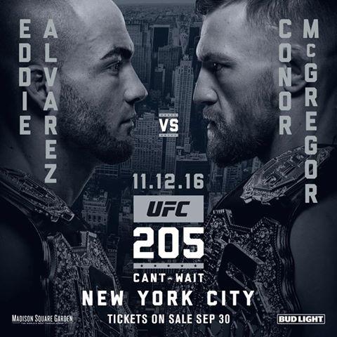 UFC 205: McGregor vs Alvarez ufficiale (UPDATE) 1