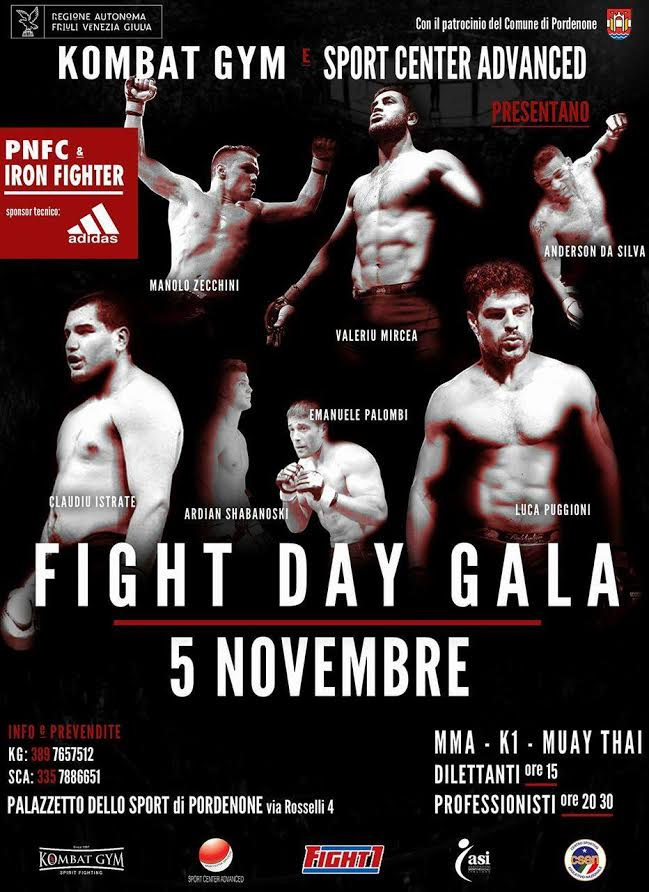 Intervista al Maestro Puggioni in vista del Fight Day Gala 1