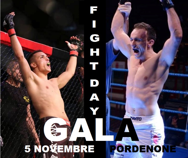FIGHT DAY GALA: IN MAIN CARD MANARA VS ZECCHINI 1