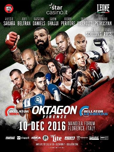 Bellator Oktagon Firenze 2016 1