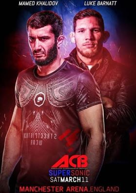 11 Marzo 2017 - Absolute Fighting Championship: Mamed Khalidov vs Luke Barnatt. 1