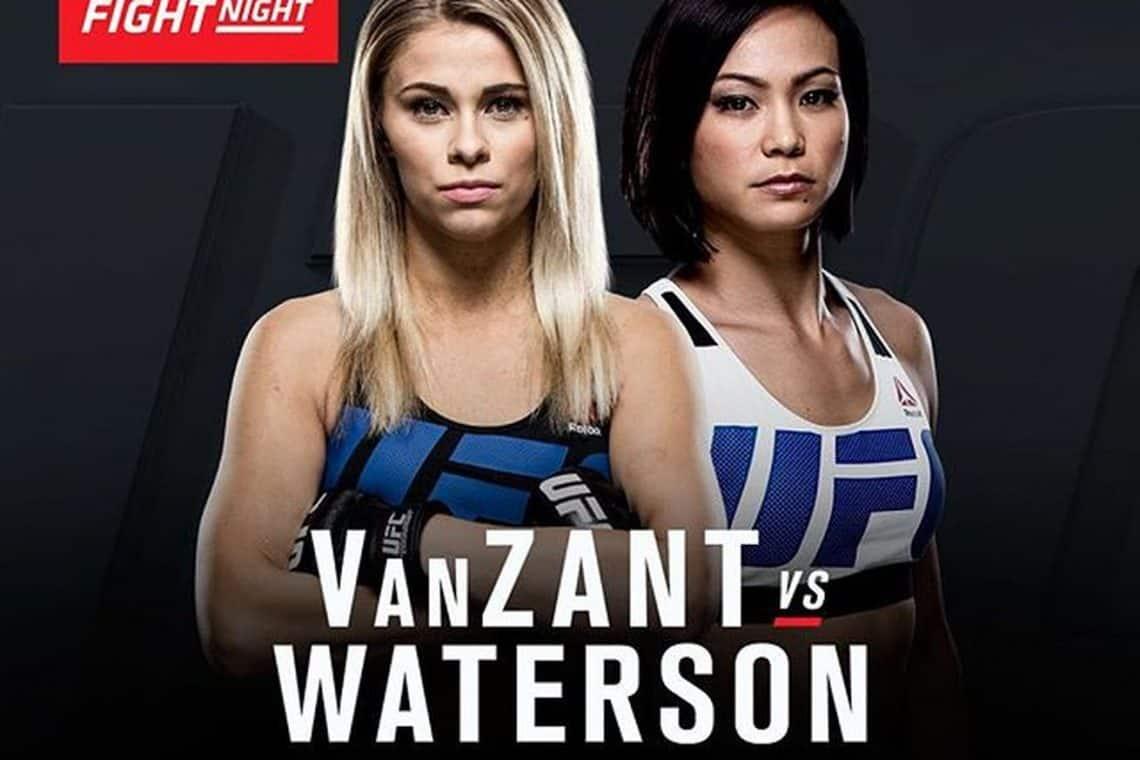 UFC on Fox: VanZant vs. Waterson 1