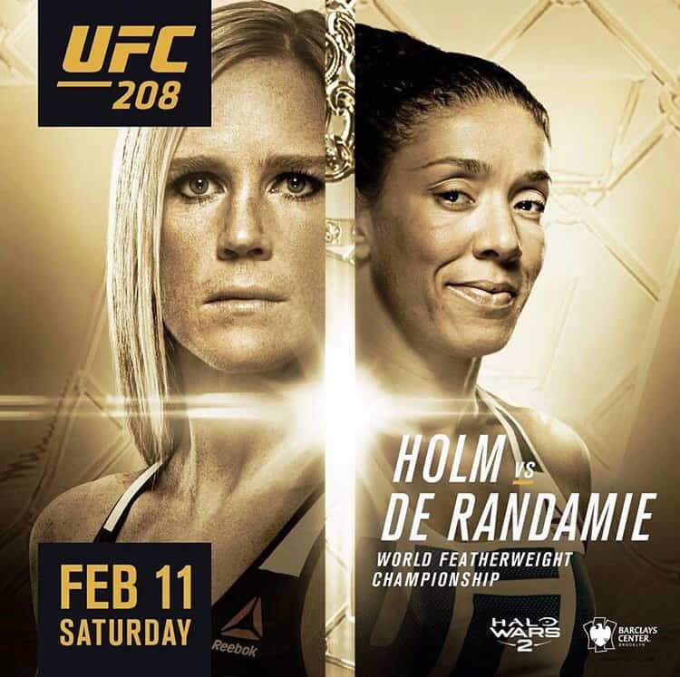 UFC 208: Holm vs de Randamie 1