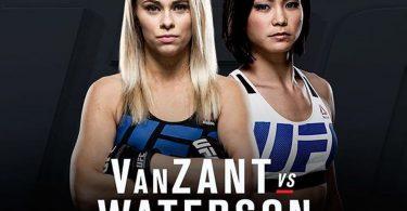 Risultati UFC on FOX: VanZant vs Waterson 2